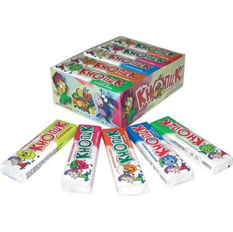 Жевательные конфеты Кнопик оптом.