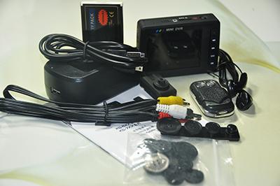 Шпионская видеокамера пуговица комплект