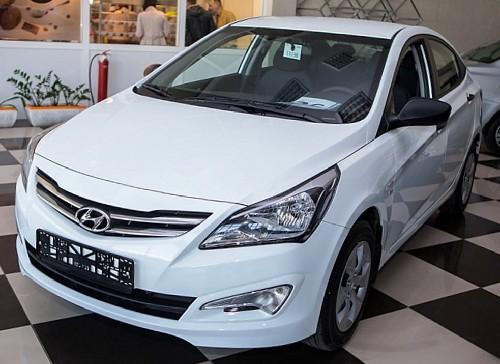 Hyundai Solaris 2015 года