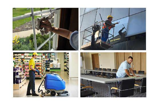 Услуга уборке производственных помещений