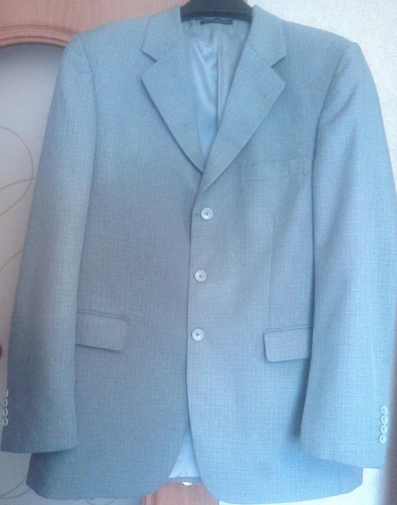 Пиджак светло-серый New Falcon