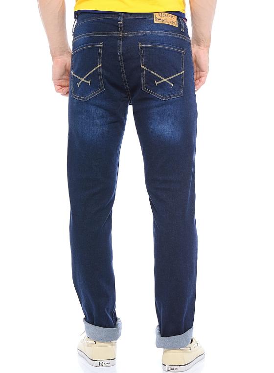Джинсы мужские U.S. Polo Assn., цвет темно-синий