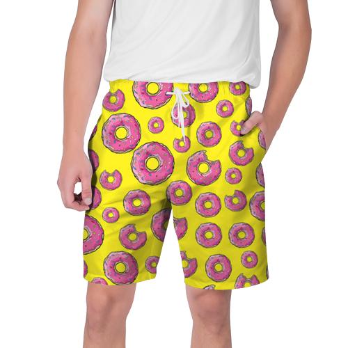 Прикольные мужские шорты пончик