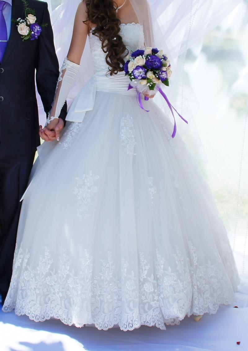 Продам свадебное платье Бьнс