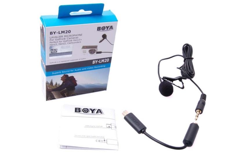 BOYA BY-LM20 Всенаправленный конденсаторный микрофон