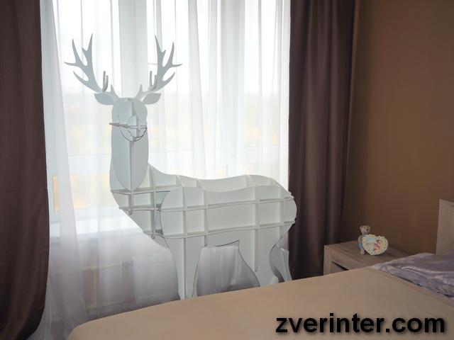 Мебель в виде животных.