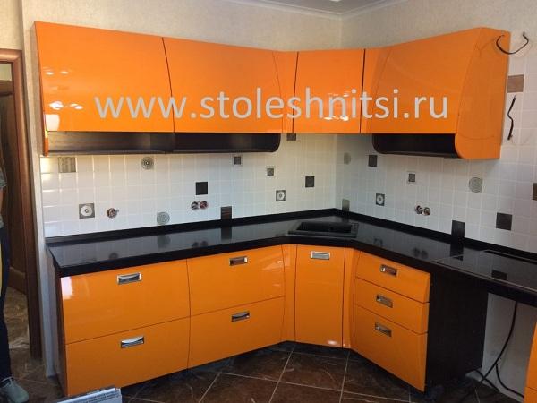Столешницы для кухни из акрила в Москве.