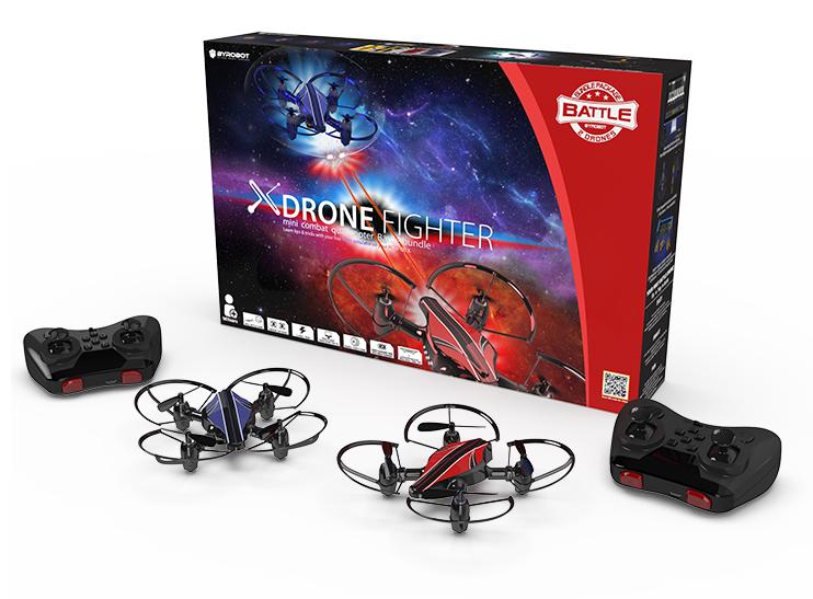 Боевые квадрокоптеры от Byrobot Drone Fighter Combat Pack