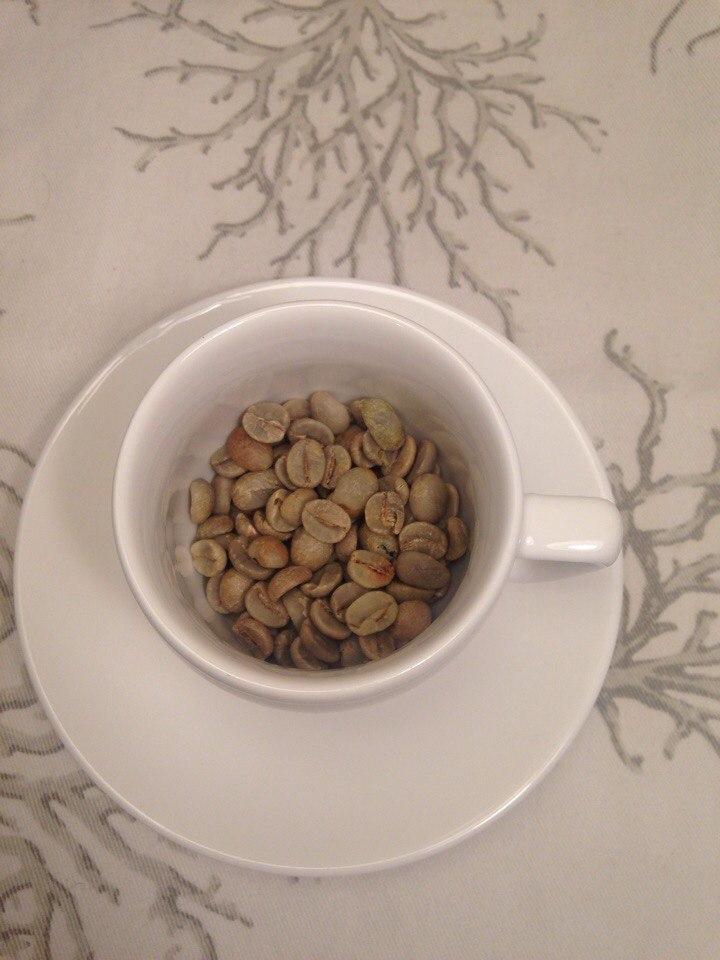 Продам зеленый кофе  Arabica Brazil Santos scr.1718
