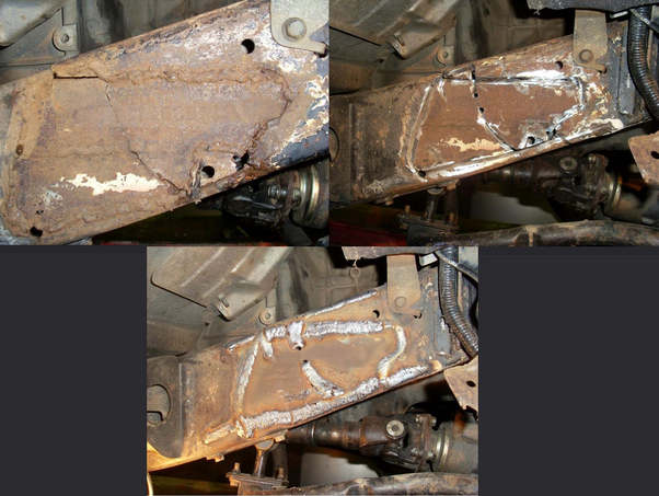 Кузовной ремонт грузовых автомобилей в Воронеже