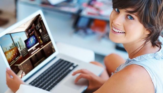 Работа онлайн в крупной компании
