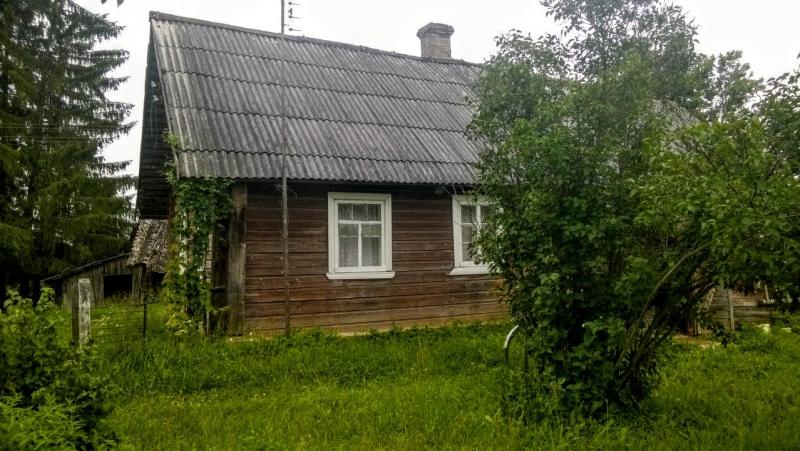 Добротный крепкий дом с баней рядом с озером, 47 соток земли