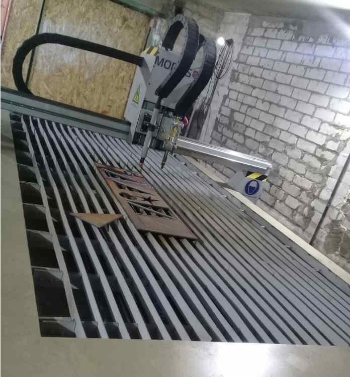 Плазменная резка металла цена за метр