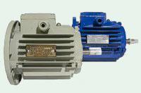 Электродвигатель с крыльчаткой