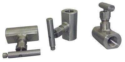 Клапан запорный игольчатый Ду15, Ру16 МПа, муфта-муфтааналог 15с54бк
