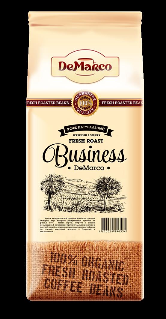 Кофе зерновой Business DeMarco
