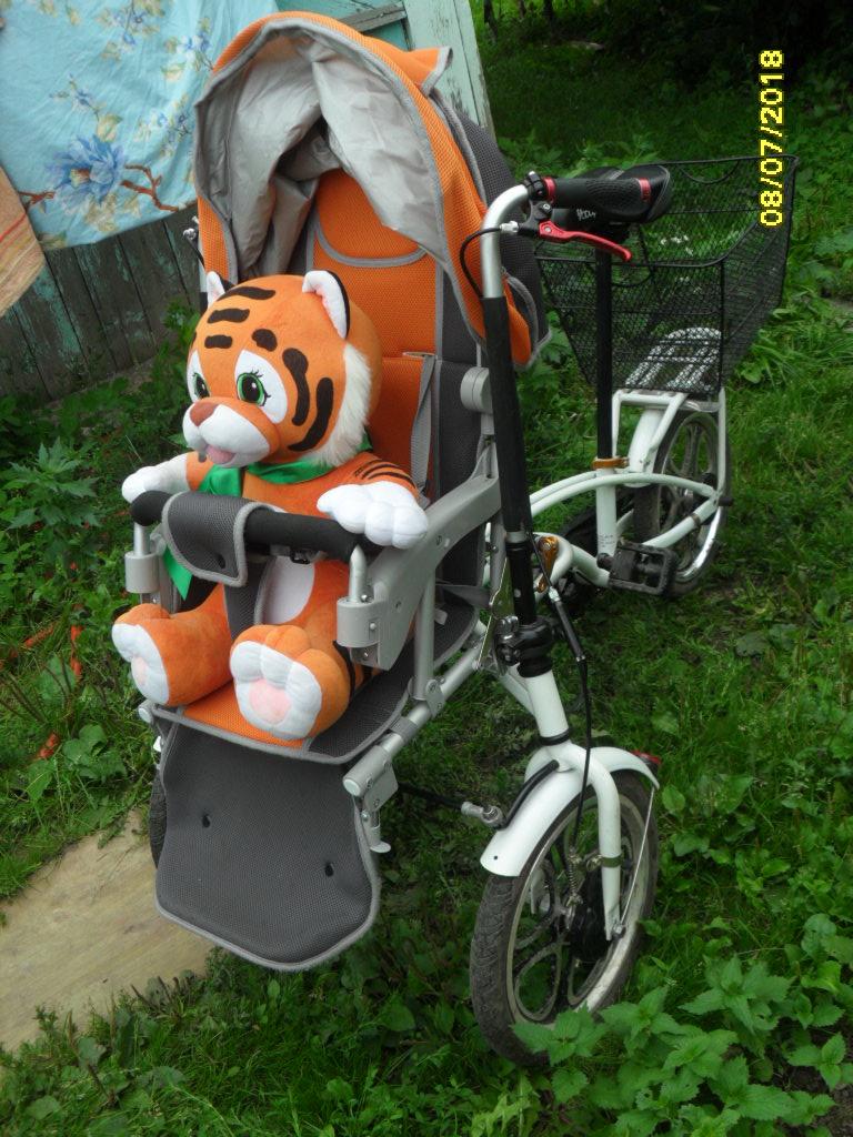 Велоколяска трансформер Yabby Бike