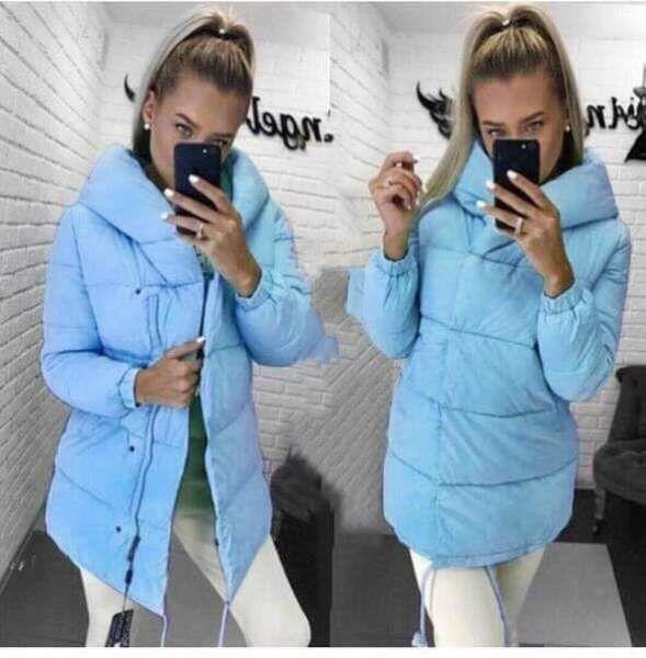 Зимняя куртка Зефирка