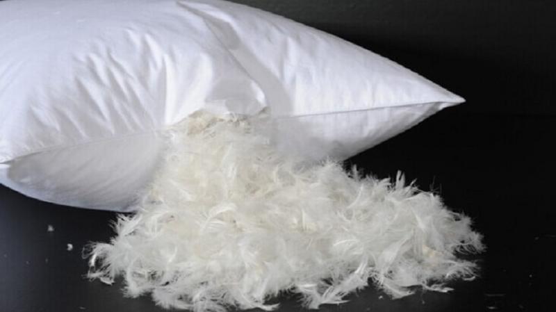 Подушки, одеяла, матрасы, наполнитель пух, перо
