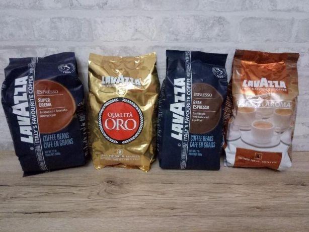 Ароматный Lavazza  Oro, Super Crema, Grand Espresso, Crema e Aroma