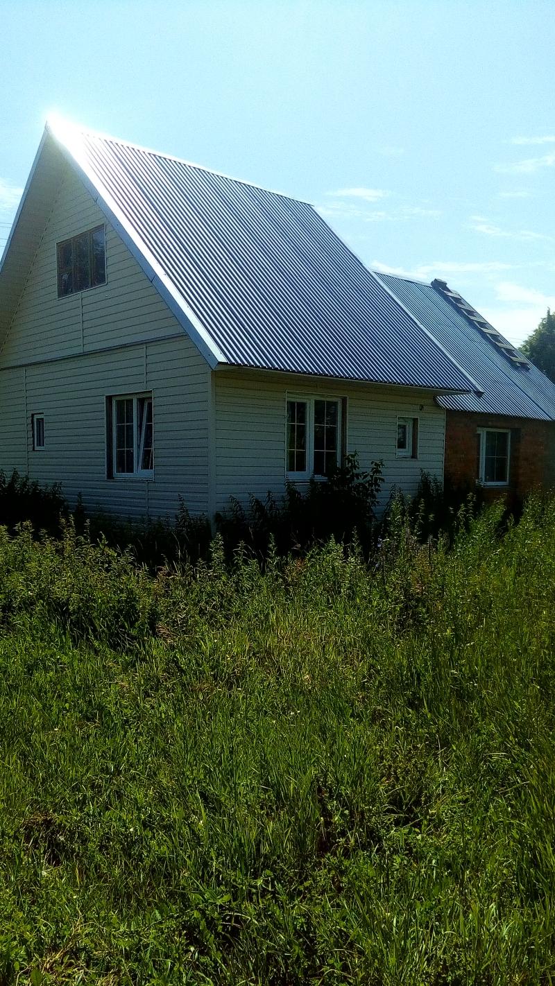 Земельный участок 136 сот  дом 51,9 кв.м.