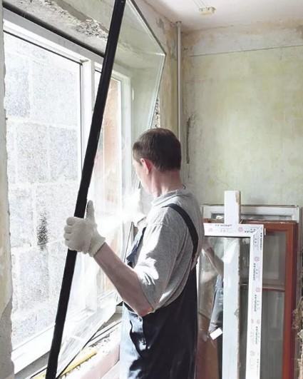 Ремонт окон от кампании Авангард-окна-Уфа
